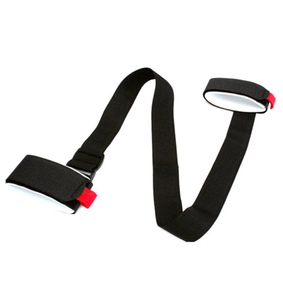 Skiing Pole Shoulder Hand Carrier Adjustable Handle Strap Hook Loop Protecting by