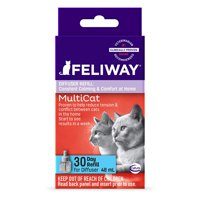 Feliway MultiCat 30 Day Diffuser Refill for Cats