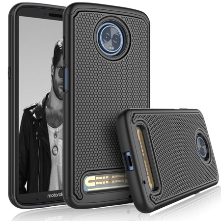 Moto Z3 Play Case Motorola Z3 Play Sturdy Case Tekcoo