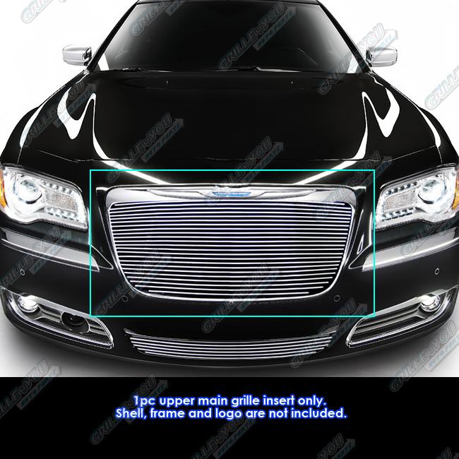 Fits 2011-2014 Chrysler 300/300C Billet Grille Grill Insert