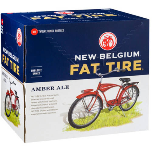 Fat Tire Amber Ale, 12 pack, 12 fl oz