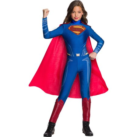 Justice League Girls Superman Jumpsuit](Superman Girl Costumes)