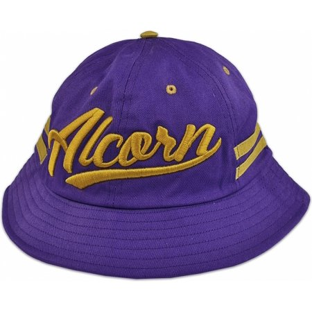 84a33f2524b579 Cultural Exchange - Big Boy Alcorn State Braves S3 Mens Bucket Hat [Purple  - 59 cm] - Walmart.com