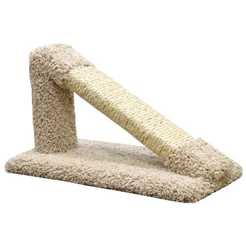 New Cat Condos 12'' Premier Tilted Scratching Post