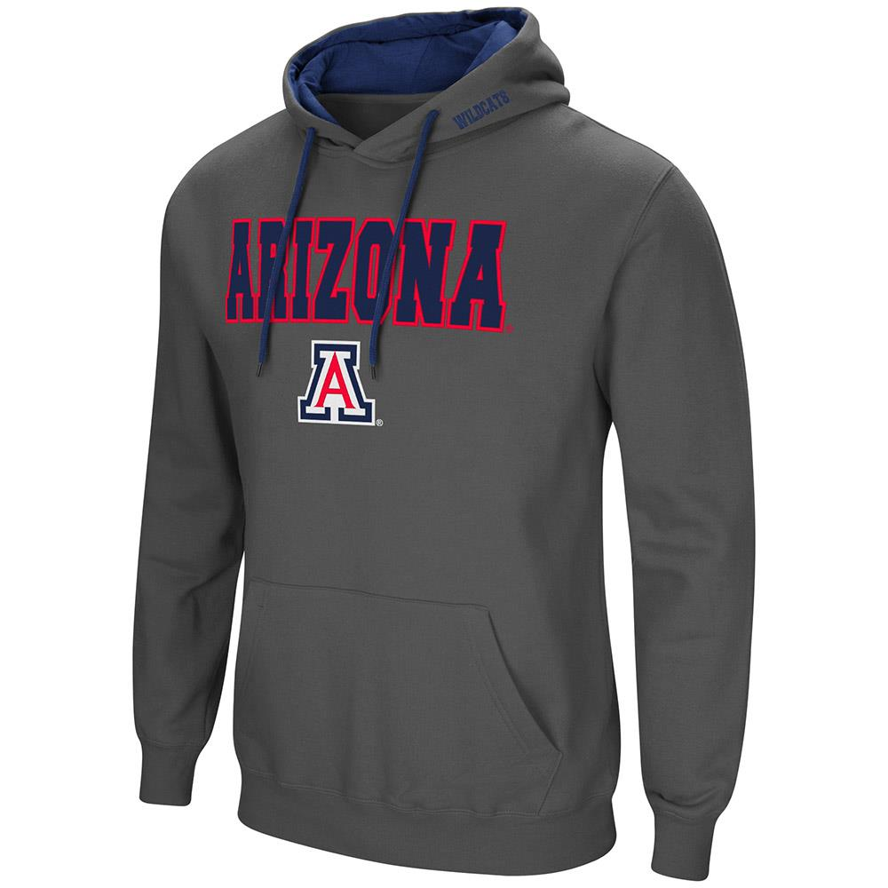 Mens Arizona Wildcats Pull-over Hoodie XL by Colosseum