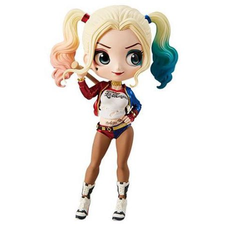Movie Version Pvc Figure - DC Q Posket Harley Quinn Collectible PVC FIgure [Movie Version]