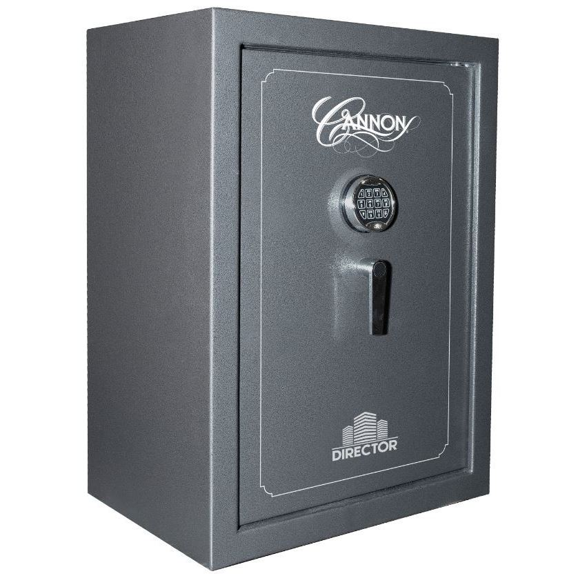 Cannon Safe Director 8, Charcoal Grey, Hammertone by Overstock