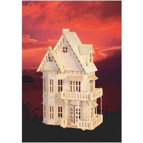 Gothic House Wood Puzzle by Puzzled
