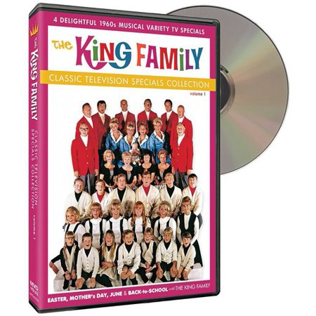 - The King Family: Classic Television Specials Collection Volume 1 (DVD)