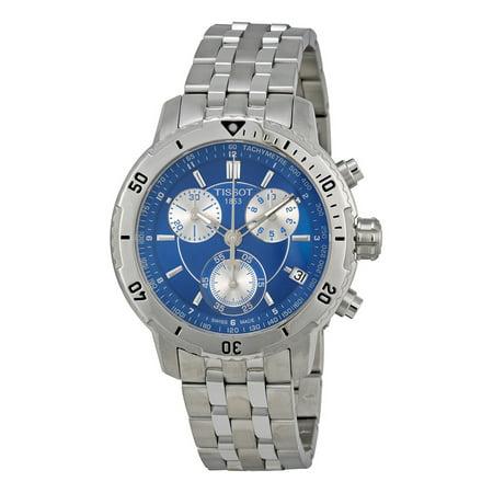 Prs 200 Chronograph Blue Dial Quartz Sport Mens Watch T0674171104100