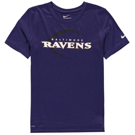 fba64858 Nike - Baltimore Ravens Nike Youth Legend Icon T-Shirt - Purple -  Walmart.com