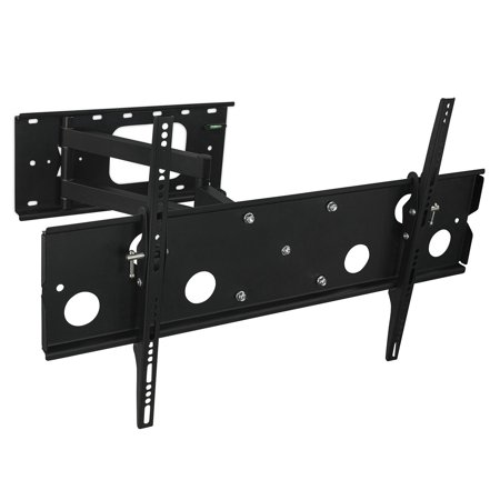 Mount-It! Articulating TV Wall Mount Bracket for 32 60LCD/LED/Plasma TVs (VESA up to 750x450mm), 175 lb Weight Capacity, Black (MI-326B)