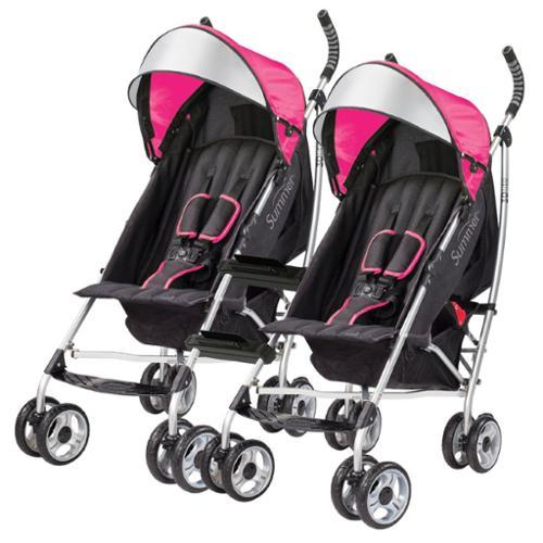 Coche Para Bebe Cochecitos de bebé verano conveniencia Lite 3D con conectores de la silla de paseo, rosa + Summer en Veo y Compro