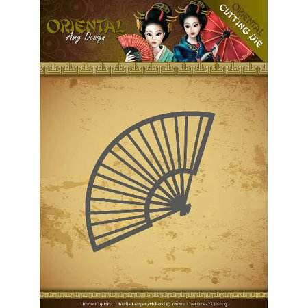 Find It Trading Amy Design Oriental Die-Chinese Fan (Orential Trading)