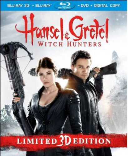 Hansel And Gretel: Witch Hunters (Rated/Unrated Extended) (3D Blu-ray + Blu-ray + DVD + Digital Copy)