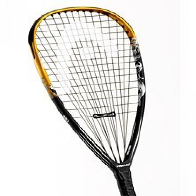 Head TKO Racquetball Racquet - Black/Gold/White (3 5/8)