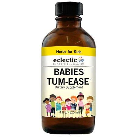 Ease Liquid (Babies Tum - Ease No Alcohol Glycerite Eclectic Institute 4 oz)