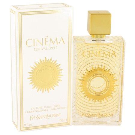 Image of Cinema by Yves Saint Laurent Summer Fragrance Eau D'Ete Spra