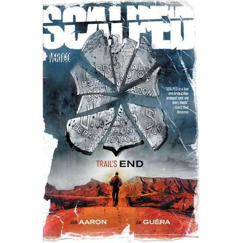 Scalped 10: Trail's End