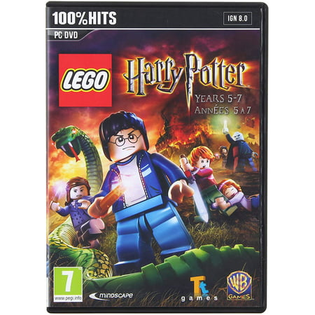 Lego Harry Potter: Years 5-7 PC DVD - Explore Grimmauld Place, the Ministry of Magic, Godric's Hollow &