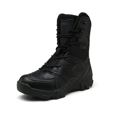 b703195c82 Military Tactical Boots Desert Combat Outdoor Army Hiking shoes