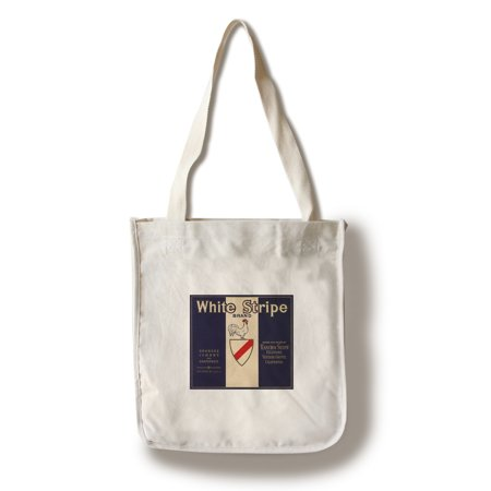 - White Stripe Brand - Fillmore, California - Citrus Crate Label (100% Cotton Tote Bag - Reusable)