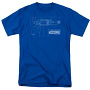 Warehouse 13 Tesla Gun Mens Short Sleeve Shirt