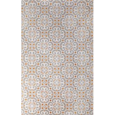 Tuft & Loom Kensington Hand-Woven Silver Indoor Area Rug