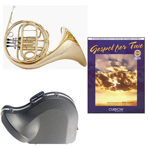 Band Directors Choice Single French Horn in F Gospel For 2 Play Along Pack; Includes... by Band Directors Choice