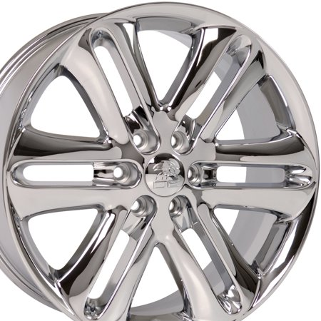 22x9 Wheel Fits Ford®, Lincoln Trucks & SUV's - F150® Style Chrome Rim, Hollander 3918 ()