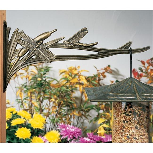 Whitehall Products 30262 Dragonfly Outdoor Nature Hook - French Bronze