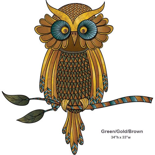 My Wonderful Walls Wise Owl Wall Sticker