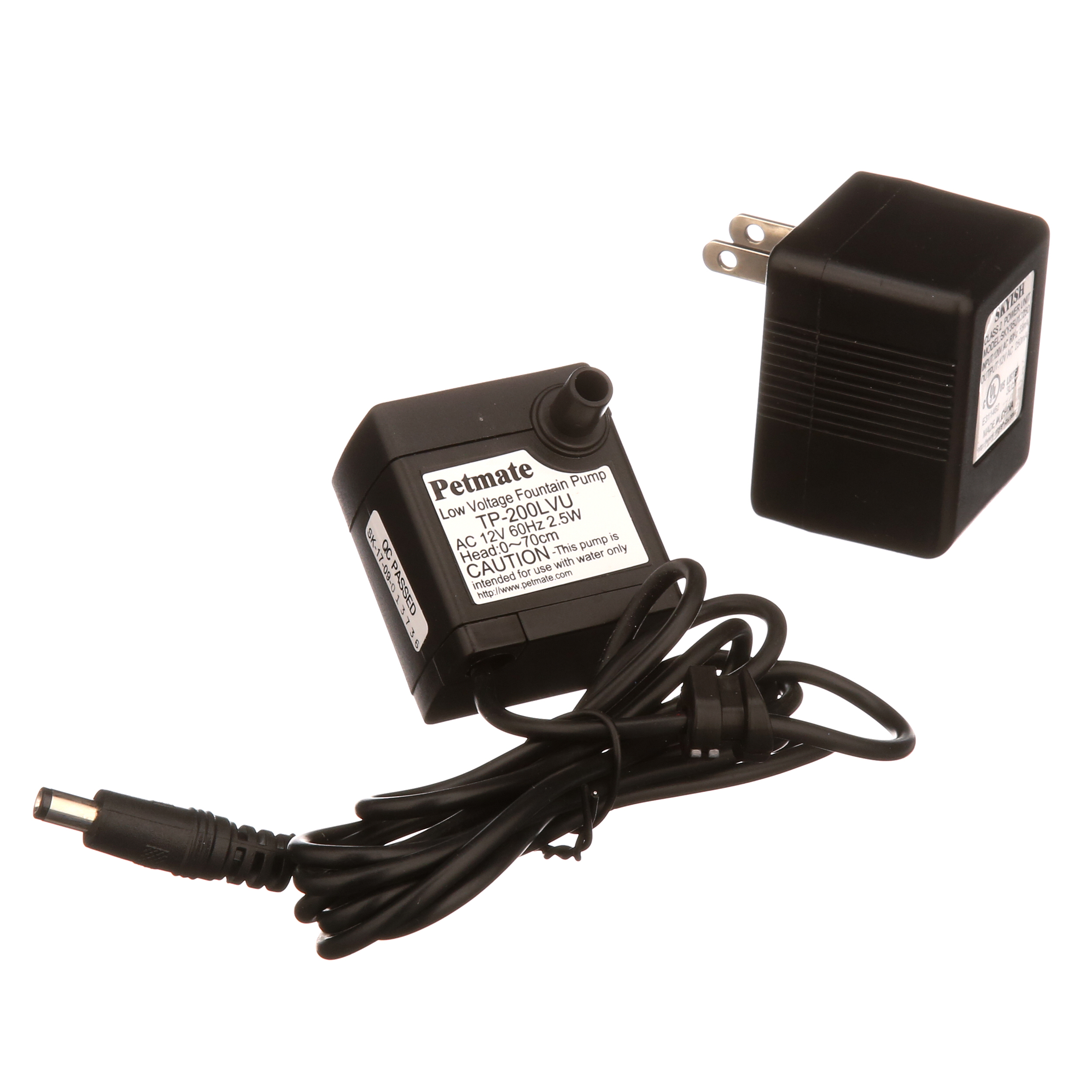 Pet Supplies Petmate Fresh Flow Deluxe Replacement Pump 120v Ac Adapter And Cord Included