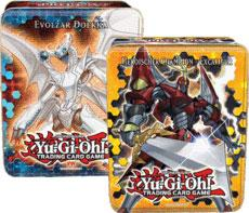 YuGiOh 2012 Collector Tins Series 1 Heroic Champion Excalibur & Evolzar Dolkka Collector Tins by