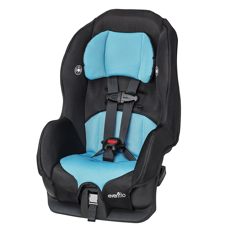 Tribute LX Convertible Car Seat - Neptune, USA, Brand Evenflo