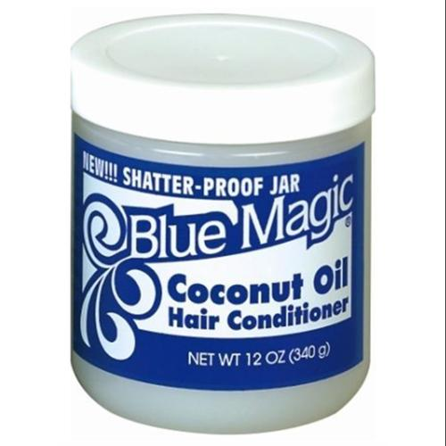 Blue Magic Coconut Oil Hair Conditioner 12 oz (Pack of 3)