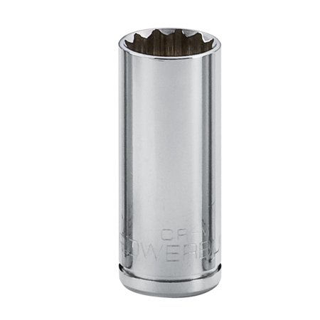 - Powerbuilt 1/2-Inch Drive Deep Well Socket 1-1/16-Inch, 12 Point, 940139
