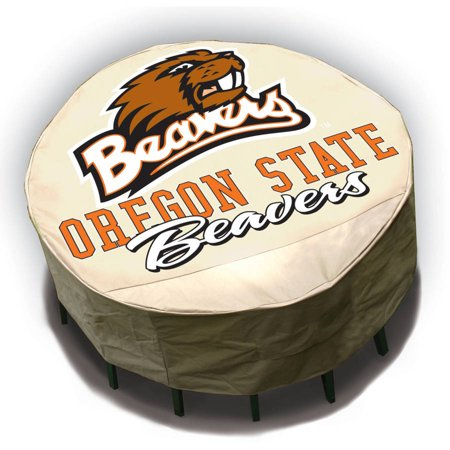 NCAA Mr. Bar-B-Q Round Table Cover, Oregon State University Beavers ()