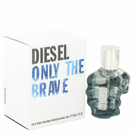 Diesel Only the Brave Eau De Toilette Spray for Men 1.1 oz (Diesel Flieger-sonnenbrille)