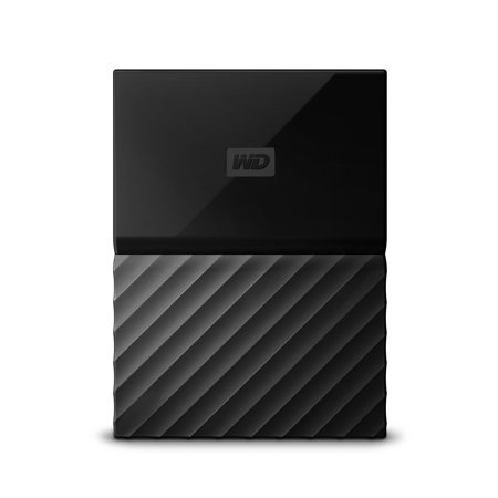 Western Digital My Passport 2 Terabyte Portable Black External Hard Drive