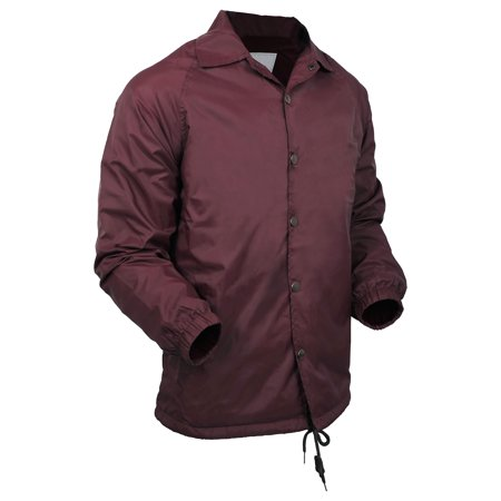 Mens Coach Jacket Lightweight Waterproof Windbreaker Outerwear Sport