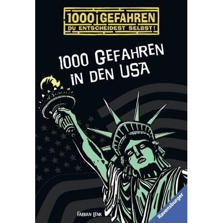 1000 Gefahren in den USA - eBook (Kids Stores In Den Usa)