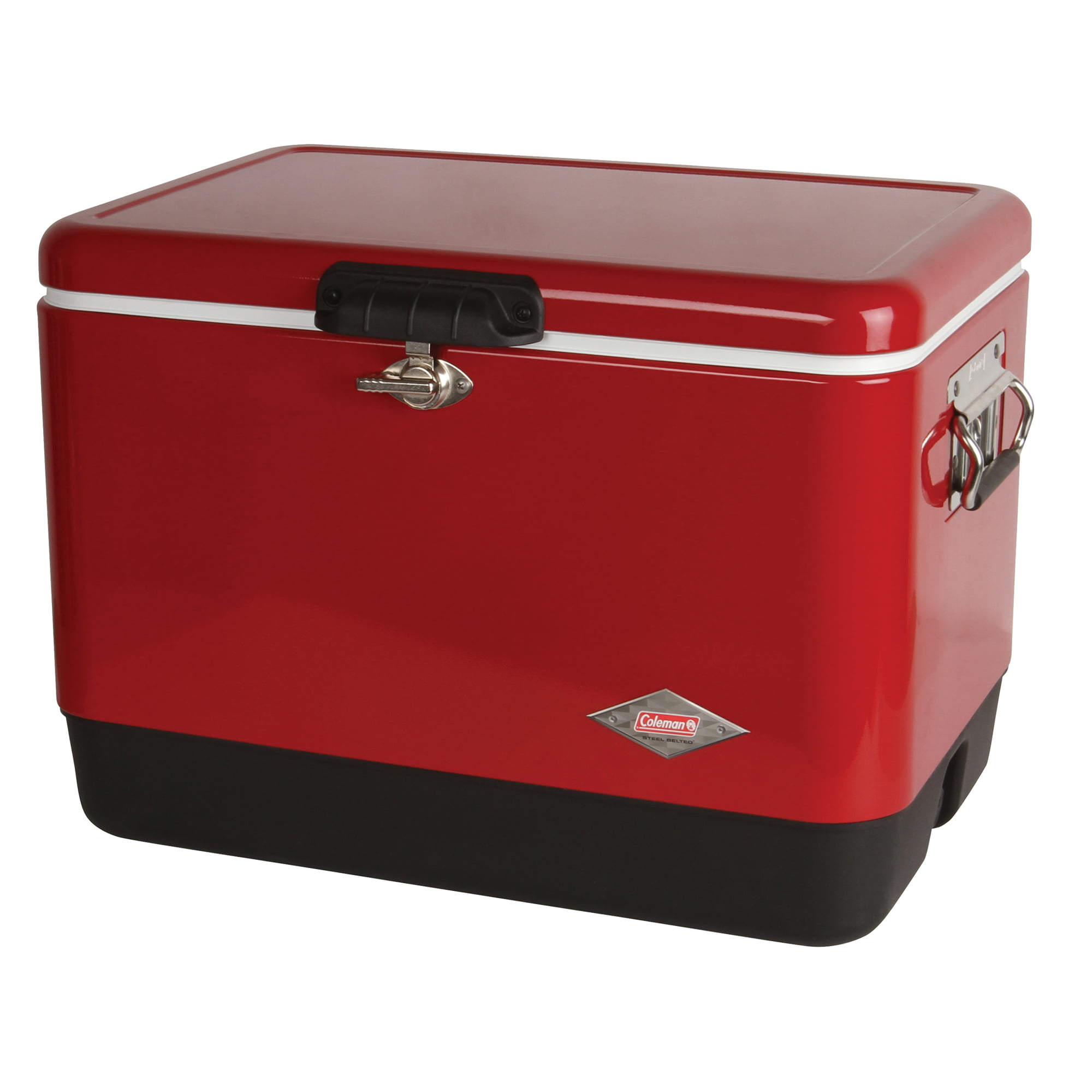 Details about Coleman 54 qt Steel Belted Cooler
