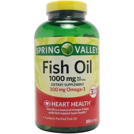 Upc 681131071819 Spring Valley Fish Oil 1000 Mg 300