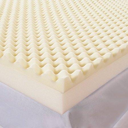 Egg Crate Foam Mattress Topper Cot Size 30 X 74 Fits Camp Rv Cots
