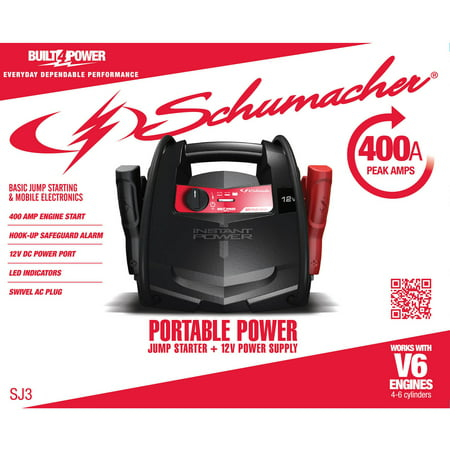 Schumacher Electric  Amp Car Battery Jump Starter