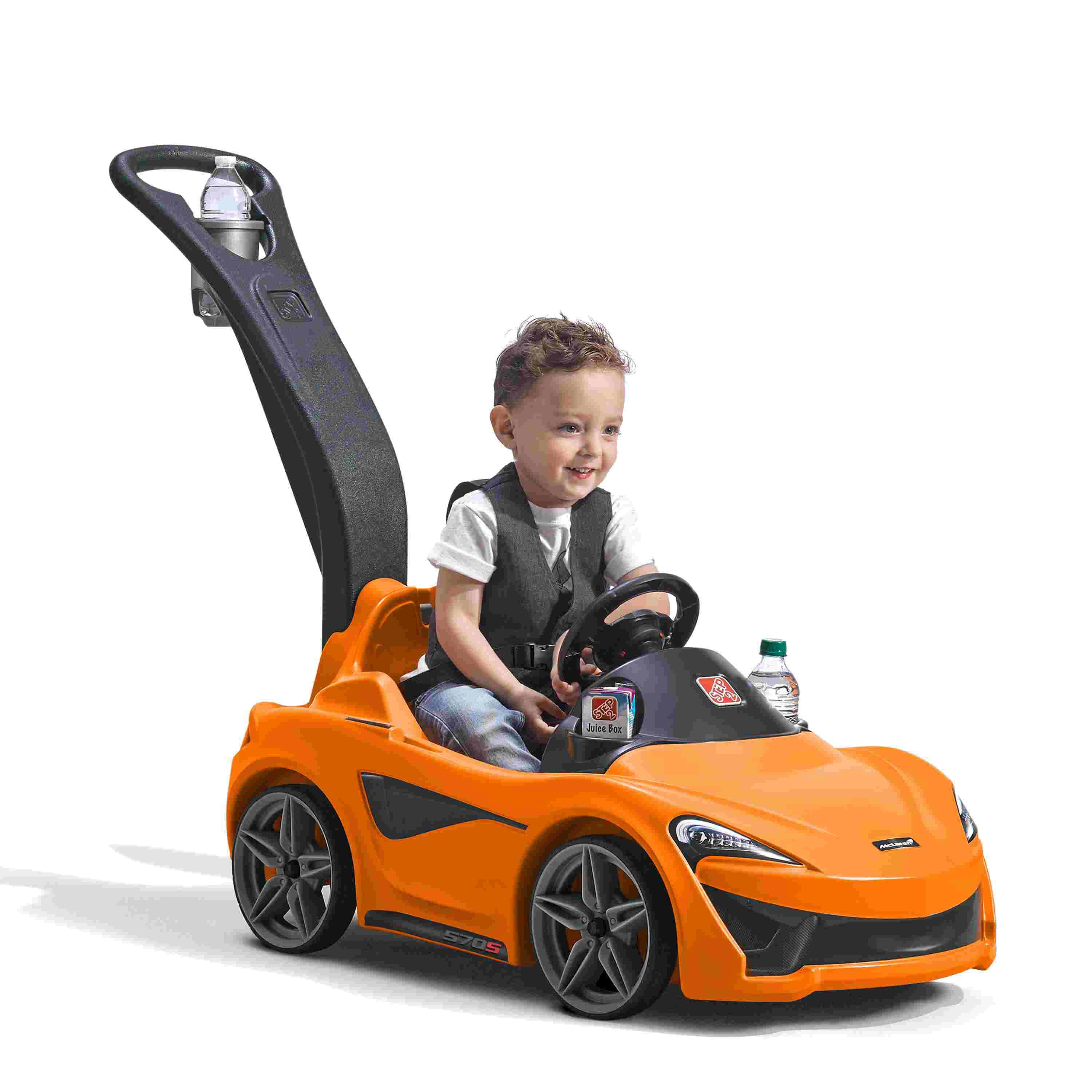 Click here to buy Step2 McLaren 570S Push Sports Car by Step2.