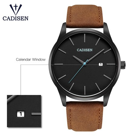 Cadisen Fashion Men Watches Quartz Luxury Sports Wrist Watch Calendar Business Watch - image 4 of 7