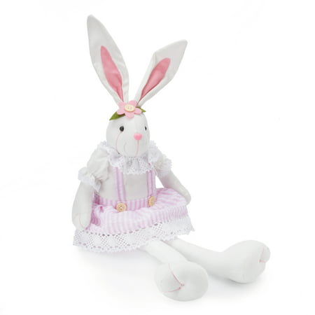 Way To Celebrate Easter Decor, Sitting Girl Bunny (Easter 2105)