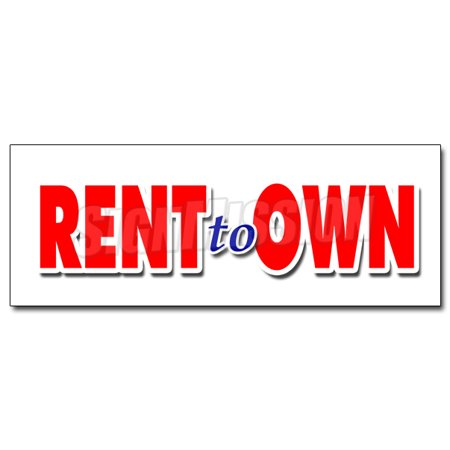 48  Rent To Own Decal Sticker Tv Flat Screen Furniture Appliances Computers